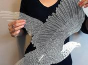 Maude white l'art decoupe papier