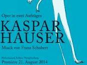 Kaspar Hauser, nouvel opéra Dominik Wilgenbus musiques Schubert, Château Nymphenburg