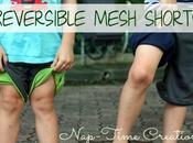Patron gratuit shorts réversibles mesh