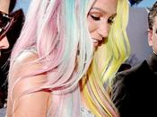 Kesha rainbow Hair Pastel MTV.