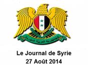 VIDEO. Journal Syrie 27/08/2014. fête trêve dans bande Gaza