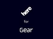 Nokia Here bientôt disponible Galaxy Gear Samsung