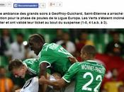 Respectez Coupe d'Europe bravo verts)