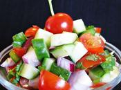 Kachumber tomates concombres