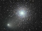 Portrait comète Siding Spring, route vers Mars
