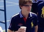 ramasseurs balles désormais équipés Google Glass l'US Open