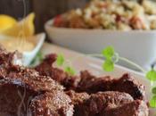 ~Brochettes Marocaine crème d'orange cari~