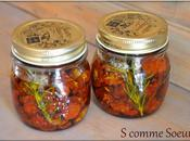 Tomates cerise séchées l'huile