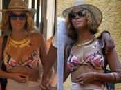 Beyoncé ultra sexy vacances Italie, monde balcon