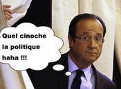Hollande, rose entre dents