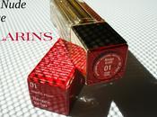 CLARINS Jours Rouges Éclats N°01 Nude Rose