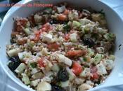Salade composée base Quinoa