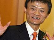 Jack fondateur d'Alibaba, devient l'homme plus riche Chine