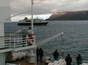 ans, embarquement bord d'un express-côtier Hurtigruten retour
