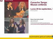 Canacho Tango muses ceinture Museo Casa Carlos Gardel l'affiche]