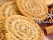 Biscuits spirales amandes cannelle