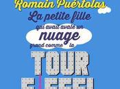 petite fille avait avalé nuage grand comme Tour Eiffel, nouveau roman Romain Puértolas