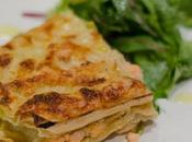 Lasagne fraiche deux saumons poireaux