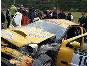 Accident rallye personne blessé