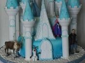 Gateau reine neiges Frozen cake