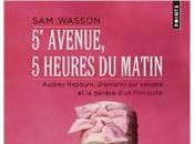 """5ème Avenue, heures matin, femme """"petite robe noire"""" devant Tiffany"""