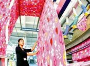 Chine place dans l'industrie textile mondiale