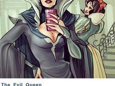 héros Disney avaient Instagram