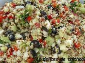 salade grecque boulgour quinoa