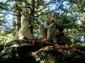 dieu joue syrinx dans parc château Nymphenburg