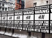 défilé Alexander Wang pour H&M hier soir York...