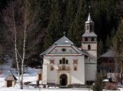 CHAPELLE NOTRE-DAME GORGE CONTAMINES-MONTJOIE (Haute-Savoie)