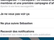 Facebook comment utiliser fonctionnalité Sauvegarder
