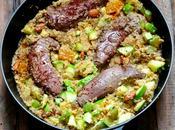 couscous plat complet mouton courgettes abricots secs (recette rapide)