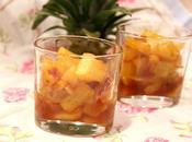 Ananas rôti sirop d'érable