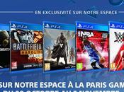 Sony dévoile line pour Paris Game Week