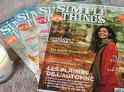 Simple Things, magazine parfait pour adopter slow reading