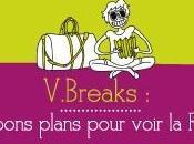 V.Breaks, bons plans week-end dénichés blogueuses