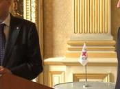 Peter Maurer Paris pour signature d'une convention entre CICR France