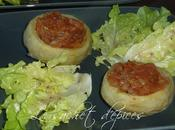 Fonds d'artichaut vapeur tomates anchois
