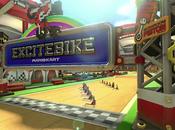 Mario Kart circuit Excitebike retour Yoshi