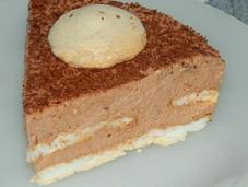 Mousse chocolat lait meringues moelleuses