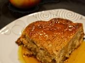 Recette saison brownie pommes sauce caramel