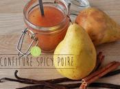 Confiture Spicy Poire