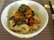 Pâtisson, Capucine Mizuna chinoise nouilles Udon faites-maison