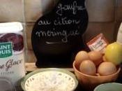 mange quoi demain Gaufres citron meringué crème
