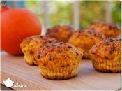 Muffins apéritif potiron bacon