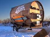 Surf Sauna: Pour réchauffer entre deux sessions