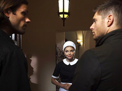 "Supernatural Synopsis photos promos l'épisode 10.06 ""Ask Jeeves"""