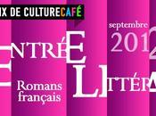 Rentrée littéraire septembre 2012, romans français choisis Culture Café