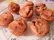 Muffins lait concentré sucré pépites chocolat